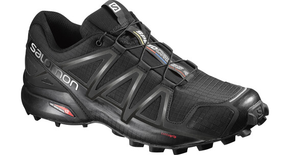 Salomon Speedcross 4 Trailrunning Shoes Men black/black/black metallic